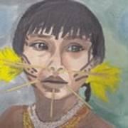 Aborigen Venezolano Art Print