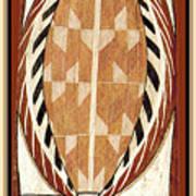 Aboriginal Bark Painting  Art Print