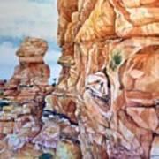 Above Canyonlands Campground Art Print