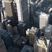 Above Chicago 2 Art Print