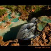 Above Havasupai Falls Arizona Art Print