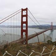 Above The Golden Gate Art Print