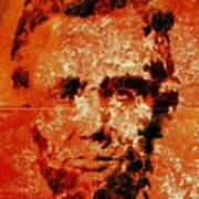 Abraham Lincoln 4d Art Print
