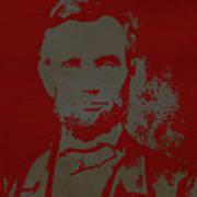 Abraham Lincoln The American President  Art Print