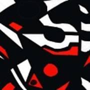 Abstrac7-30-09 Art Print