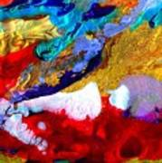 Abstract - Evolution Series 1011 Art Print