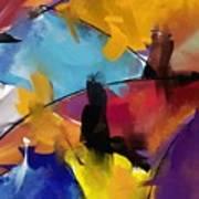 Abstract 1412 Art Print