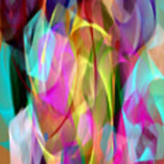 Abstract 3366 Art Print