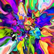 Abstract 373 Art Print