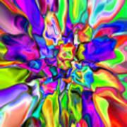 Abstract 376 Art Print