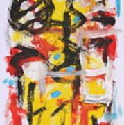 Abstract 6835 Art Print