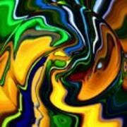 Abstract 7-10-09 Art Print