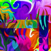 Abstract 7d Art Print