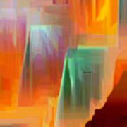 Abstract 9364 Art Print