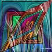 Abstract 9554 Art Print