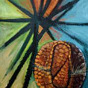 Abstract And The Armadillo Art Print