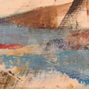 Abstract At Sea 2 Art Print