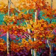 Abstract Autumn III Art Print