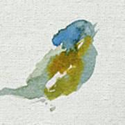 Abstract Bird Singing Art Print