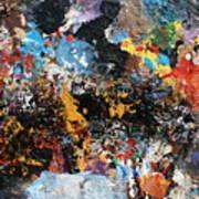 Abstract Blast Art Print