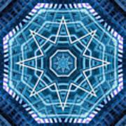 Abstract Blue 20 Art Print