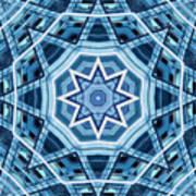 Abstract Blue 22 Art Print