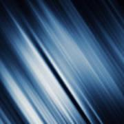 Abstract Blurred Dark Blue  Background Art Print