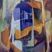 Abstract Bridges Art Print