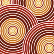 Abstract Circles Art Print
