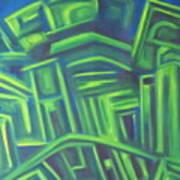 Abstract Cityscape Series IIi Art Print