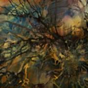 Abstract Design 88 Art Print by Michael Lang