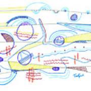 Abstract Drawing Sixty-three Art Print