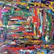 Abstract Expressionism Bvdschueren Art Print