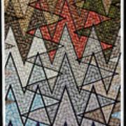 Abstract Floor  Art Print