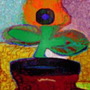 Abstract Floral Art 116 Art Print