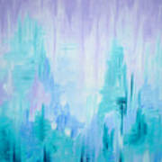Abstract Frost 1 Art Print