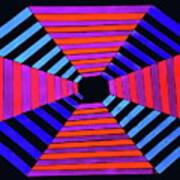 Abstract Fun Tunnel Art Print