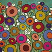 Abstract Garden Art Print