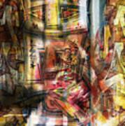 Abstract Graffitis Art Print