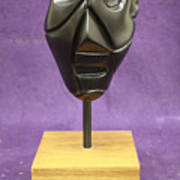 Abstract Head Art Print