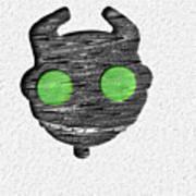 Abstract Monster Cut-out Series - Ferko Art Print