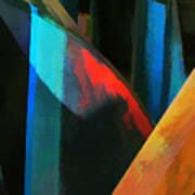 Abstract No. Twenty Four Art Print