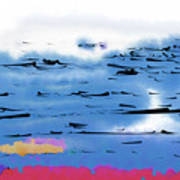 Abstract Ocean Art Print