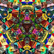 Abstract Of Abundant Colors Art Print