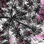 Abstract Of Ever Green Bush Art Print