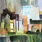 Abstract Opus 5 Art Print