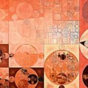 Abstract Painting - Mandys Pink Art Print