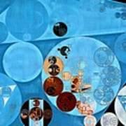 Abstract Painting - Spray Art Print