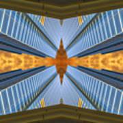 Abstract Photomontage N131v1 Dsc0965  Art Print