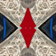 Abstract Photomontage N41p4f175 Dsc7221 Art Print